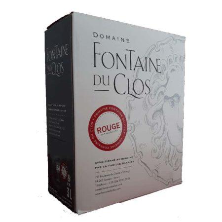 Fontaine du Clos rood