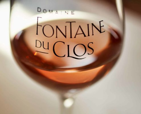 Rosé wijntap