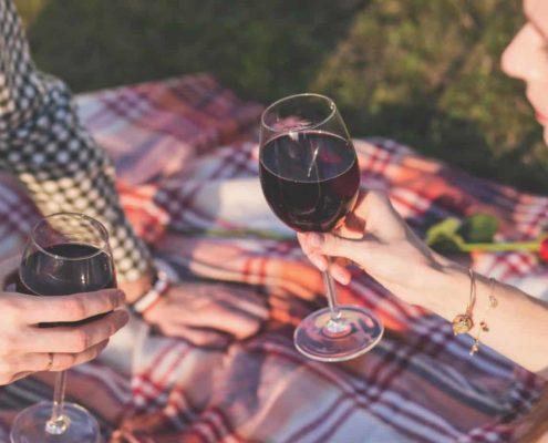 wijn in dozen